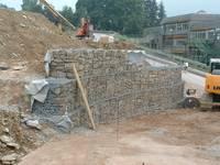 B schungen hangsicherung baugrundingenieure institut - Gabionenwand bepflanzen ...